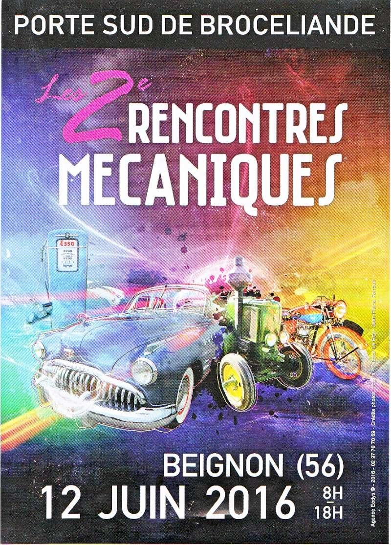2 RENCONTRES MECANIQUES 12 JUIN 2016 Journe13