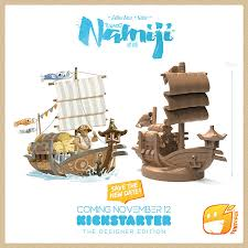 NAMIJI - The next chapter in the TOKAIDO universe! Tzolzo10