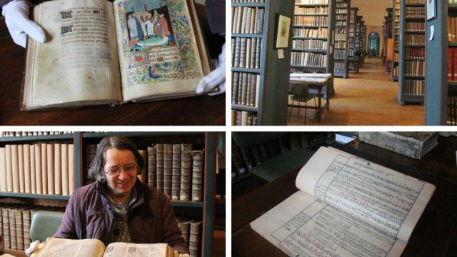 La collection de livres XVIIIe de l'abbé de Laillier  Valogn10