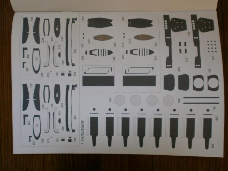IJN SHIRATSUYU paper-card model au 1/200 de GPM P2260018
