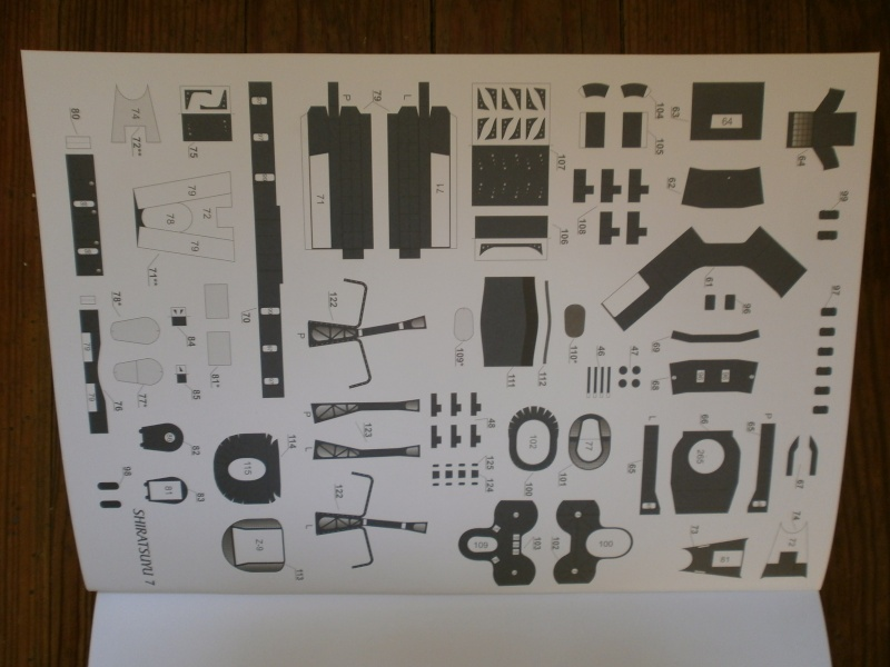 IJN SHIRATSUYU paper-card model au 1/200 de GPM P2260021