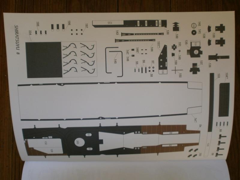 IJN SHIRATSUYU paper-card model au 1/200 de GPM P2260022