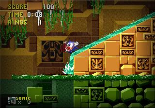Sonic The Hedgehog 1 [Genesis] Lay10
