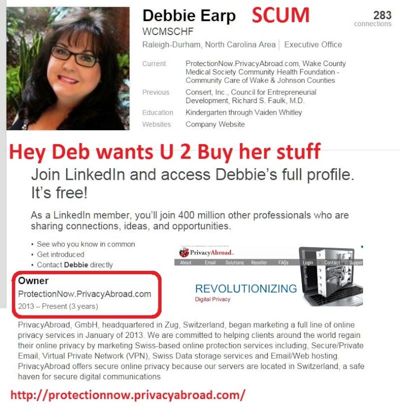 DebTarHeelGirl says buy security  Deb10