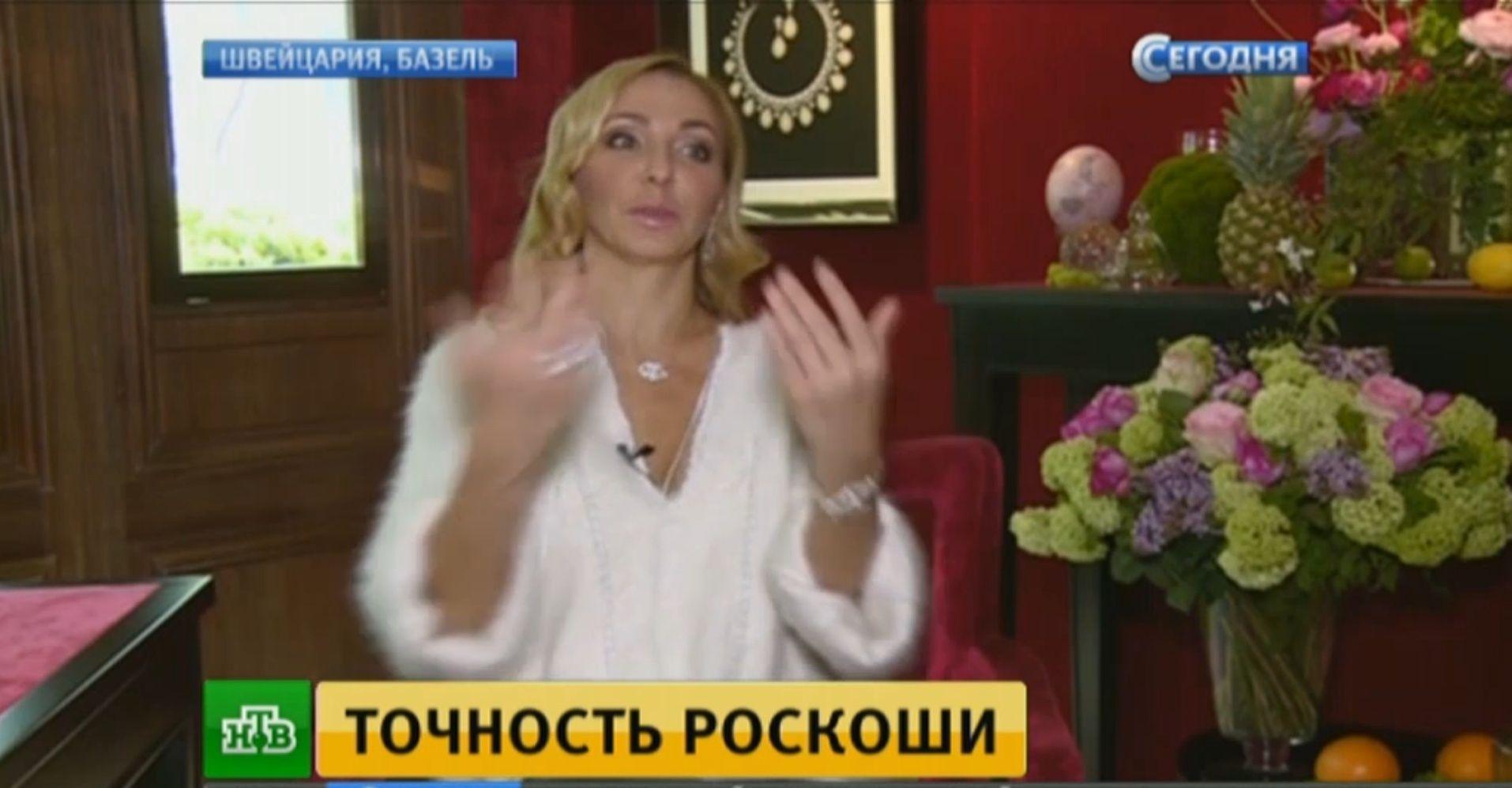 Татьяна Навка - официальный посол бренда Chopard 2016-012