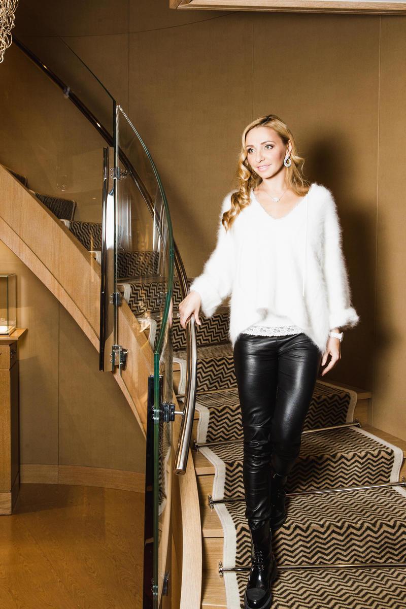 Татьяна Навка - официальный посол бренда Chopard 20160310