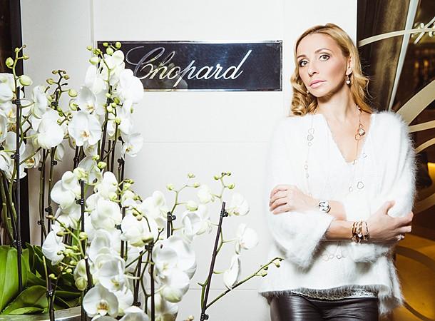 Татьяна Навка - официальный посол бренда Chopard Navka210