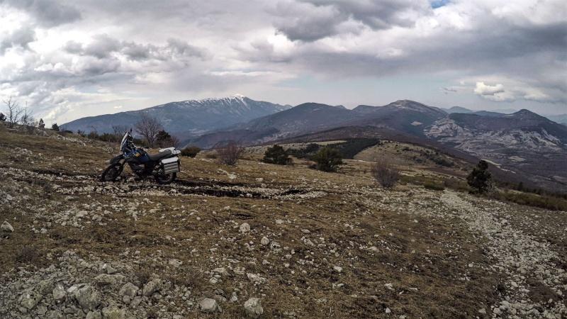 CONSEIL : Ne jamais partir seul en reco avec un gros trail... 310