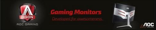 AGON: Νέα Σειρά Premium Οθονών Gaming από την AOC  1167