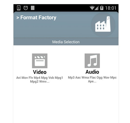 Android:	Video Format Factory 5.0 146