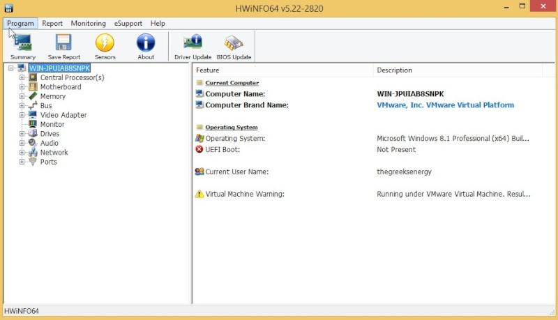HWiNFO32 6.30 Build 4240 1710