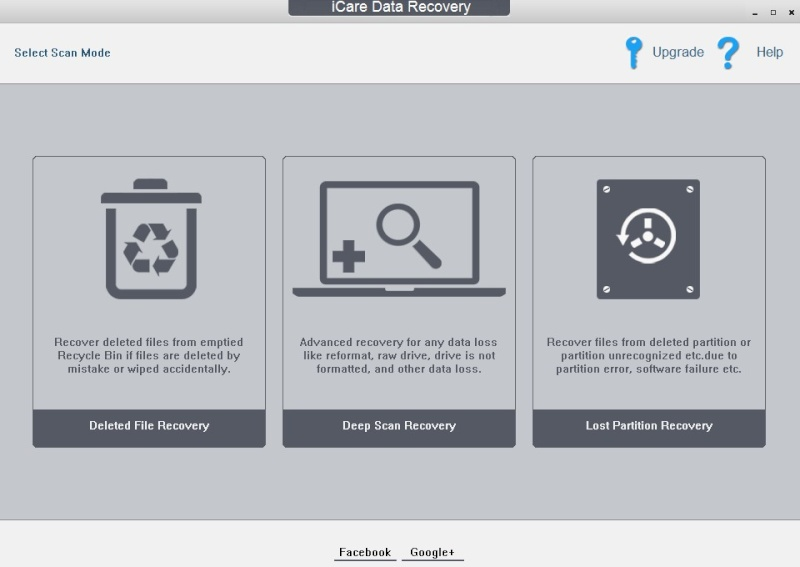 iCare Data Recovery Free 7.9.1 1813