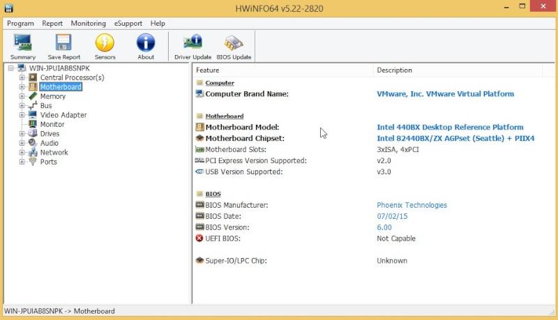 HWiNFO64 6.06 Build 3770 1910