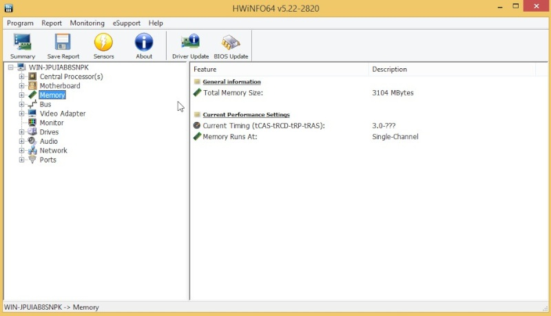 HWiNFO64 6.10 Build 3880 2010