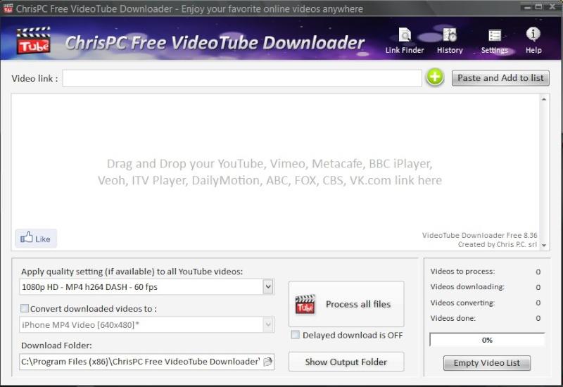 ChrisPC Free VideoTube Downloader 9.3.4 2107