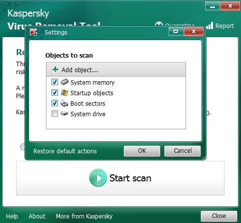 Kaspersky Virus Removal Tool 15.0.22.0 220