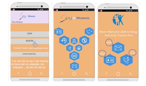 Android: Spy Human Rev 2.0 331