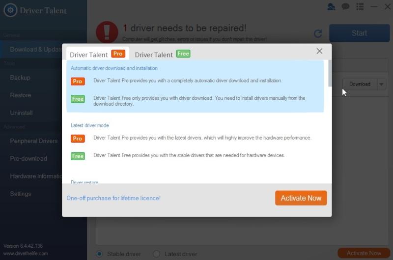 Driver Talent 7.0.1.6 - Αναβαθμίστε τους drivers σας χωρίς ίντερνετ 435