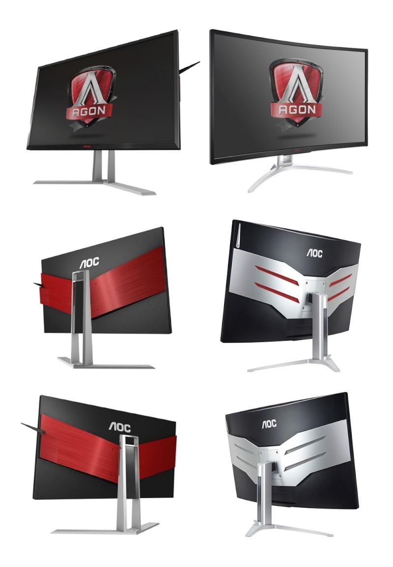 AGON: Νέα Σειρά Premium Οθονών Gaming από την AOC  Agon10
