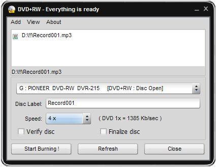 Easy Disc Burner 6.5.3.339 Edburn10