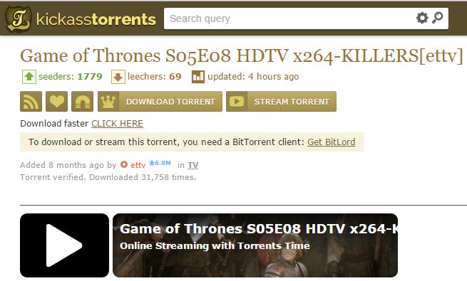 Μετά το Pirate Bay και το Kickass Torrents επιτρέπει να παρακολουθήσετε ταινίες απευθείας από τον περιηγητή σας Kat_st10