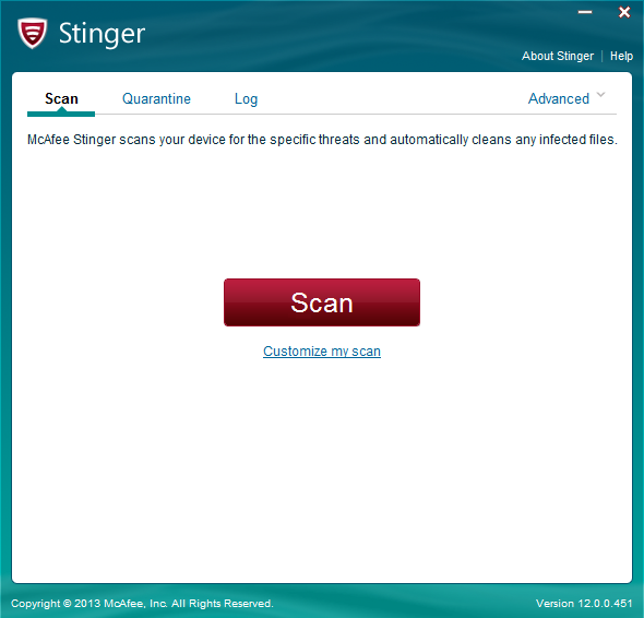 Antivirus/Removal Tools Stinge10