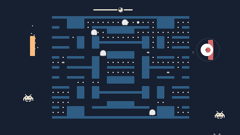 Pacapong: Pong + Pacman + Space Invaders! 1.3 Txgqdn10