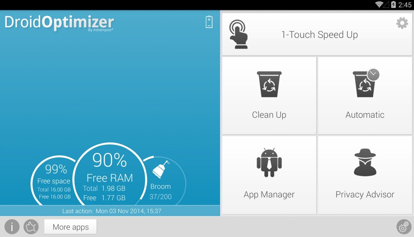 Android: Ashampoo Droid Optimizer 2.2.1 Unname20