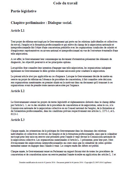 Code Du Travail 2016 Code_d10