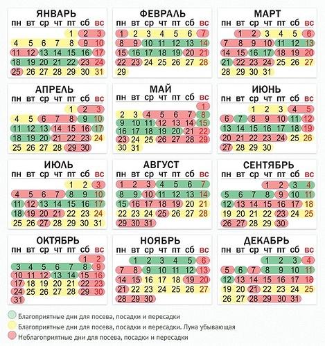 Календарь посева 2016 г. 42622210