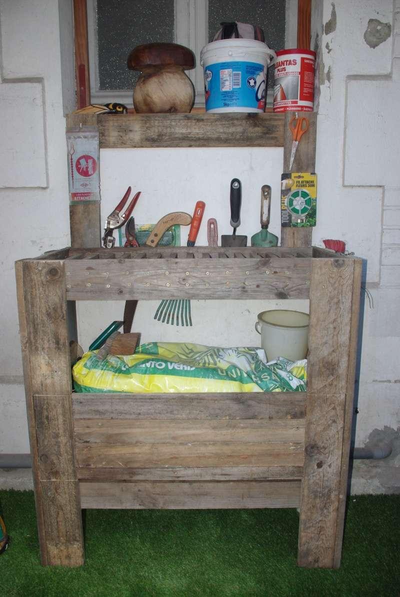 Un meuble utile pour le jardin for Meuble pour jardin