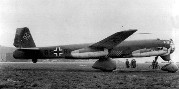 Avion Allemand Junkers Ju 287 Gju28710