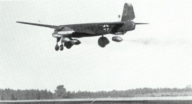Avion Allemand Junkers Ju 287 Ju287v11