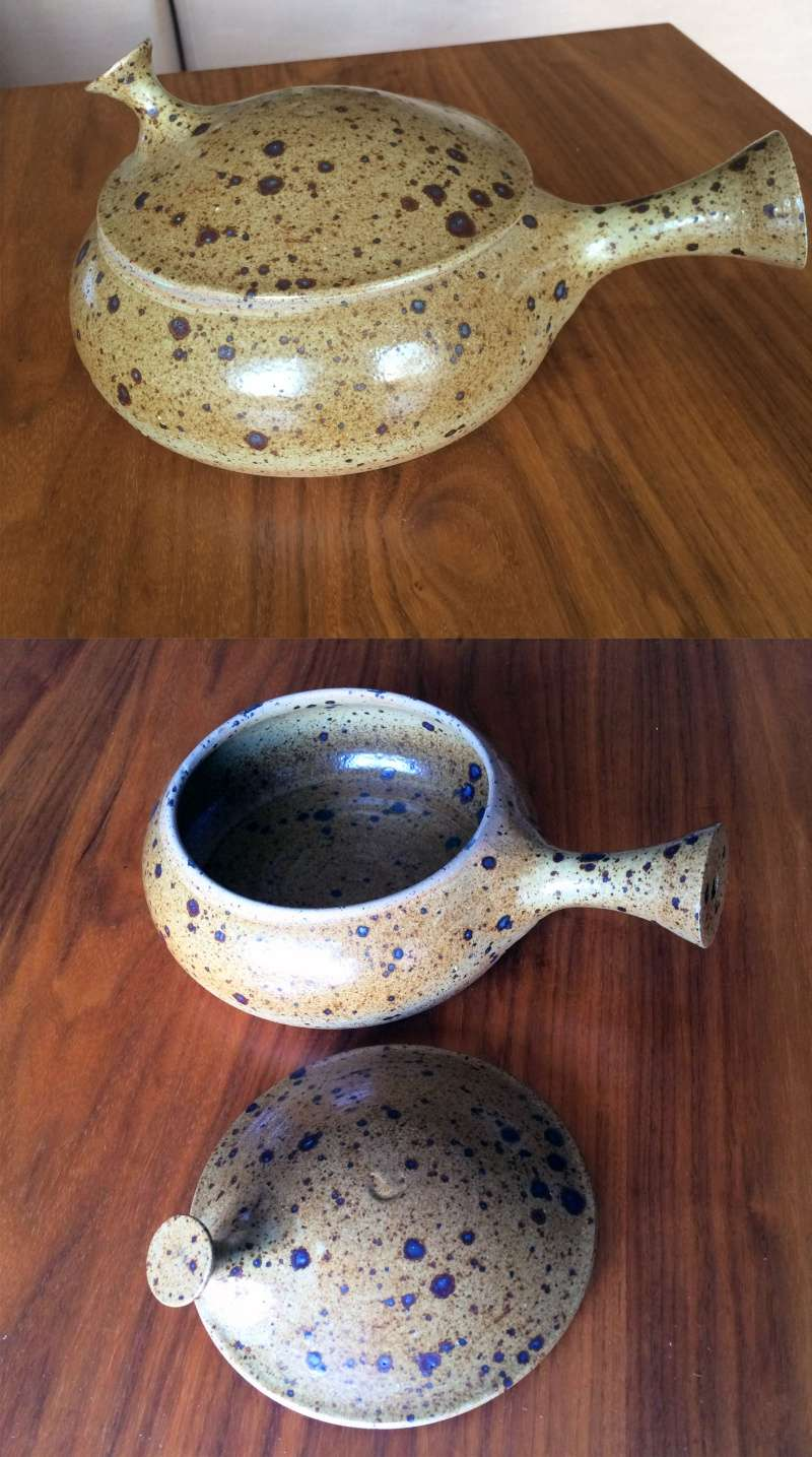 Any ideas on who the maker is please? Pot_110