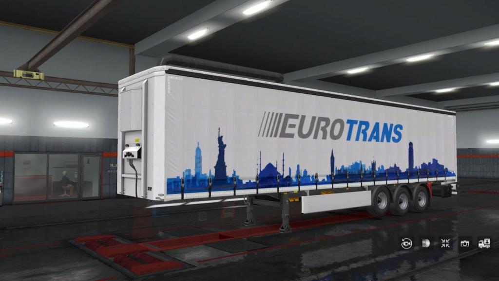 Nouveau flocage EUROTRANS Eurot180
