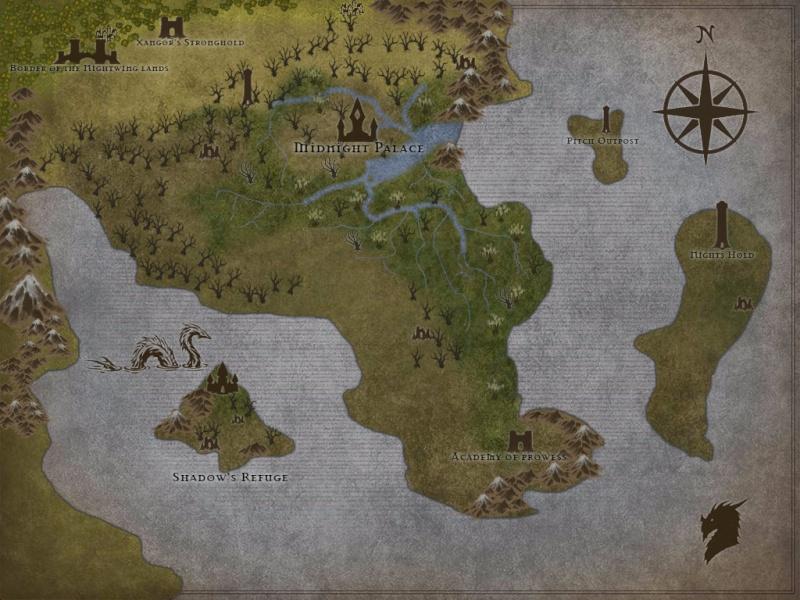 Nightwing Regional Map. A-nigh11
