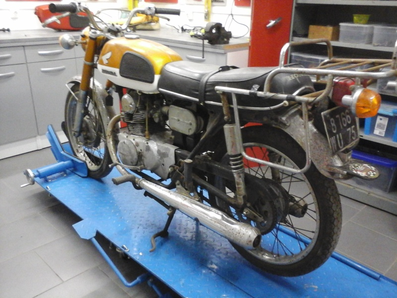 restauration k4 gold 110