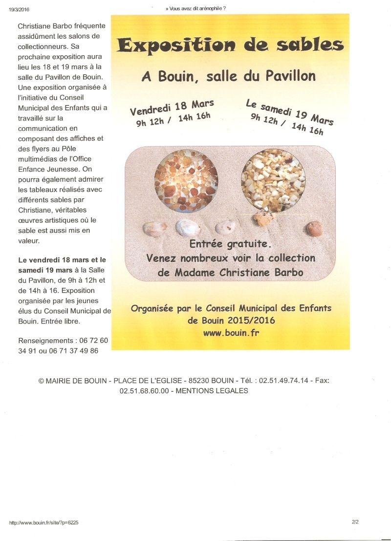 expo à Bouin Numyri14