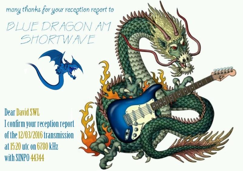 eQSL de Blue Dragon Radio 069ed610