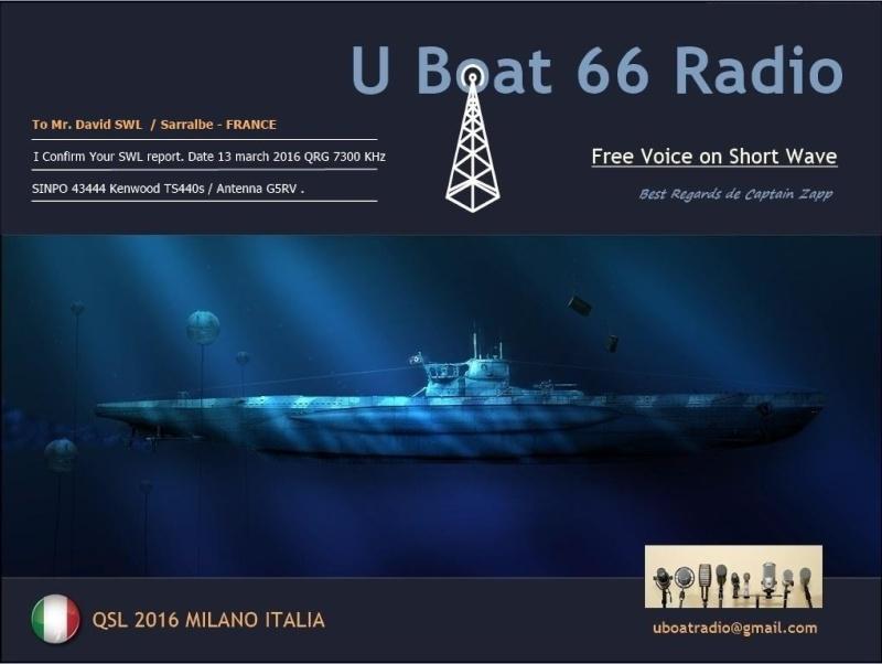 eQSL de R.U-BOAT 66 13-03-10