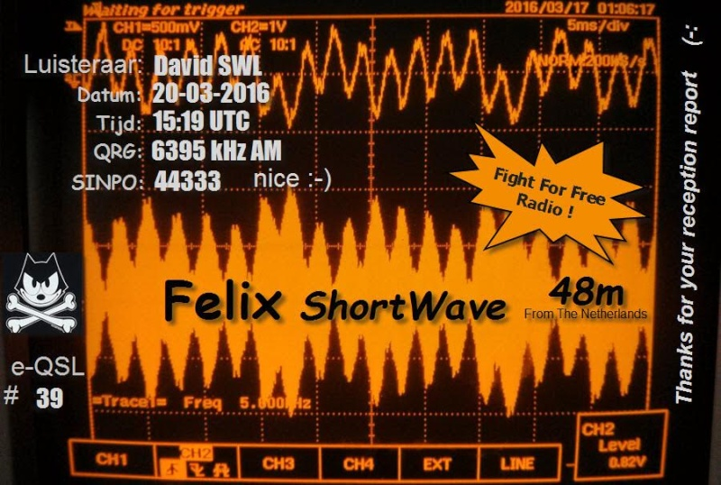 eQSL de radio FELIX 2cea6611