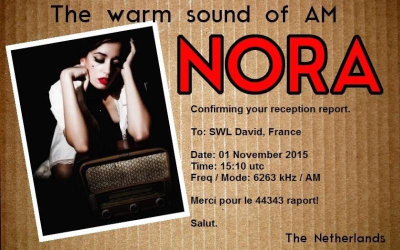 eQSL de Radio Nora  38b77010