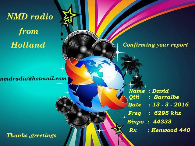eQSL de NMD Radio C5aaa110