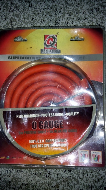 Pure Copper Power & Ground Cable, 0 Gauge Cable_10