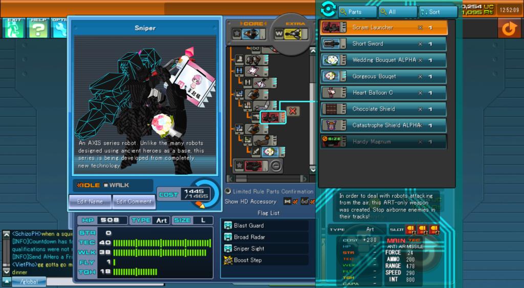 CosmicBreak Universe - Rosso Aspide &  Ragna - Arena Fights Ragna-10