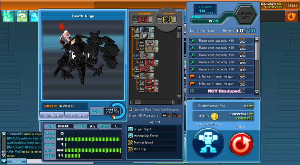 CosmicBreak Universe - Rosso Aspide &  Ragna - Arena Fights Rosso-10