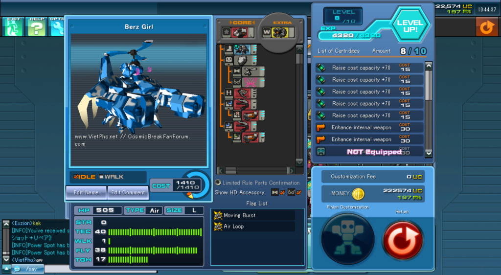 CosmicBreak Universal S Tier Alpha Air - Post Beta (Link in reply) Screen11