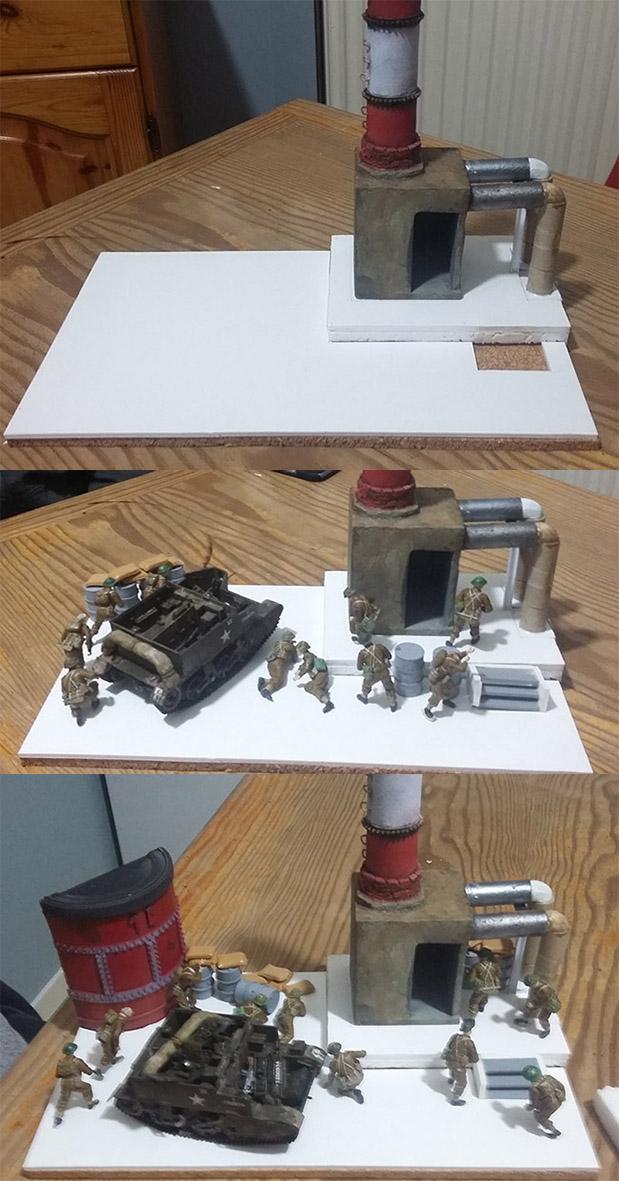 Combat à l'usine désaffectée              Tamiya/Dragon/Vulcain/MENG/Scratch 1/35   16021612