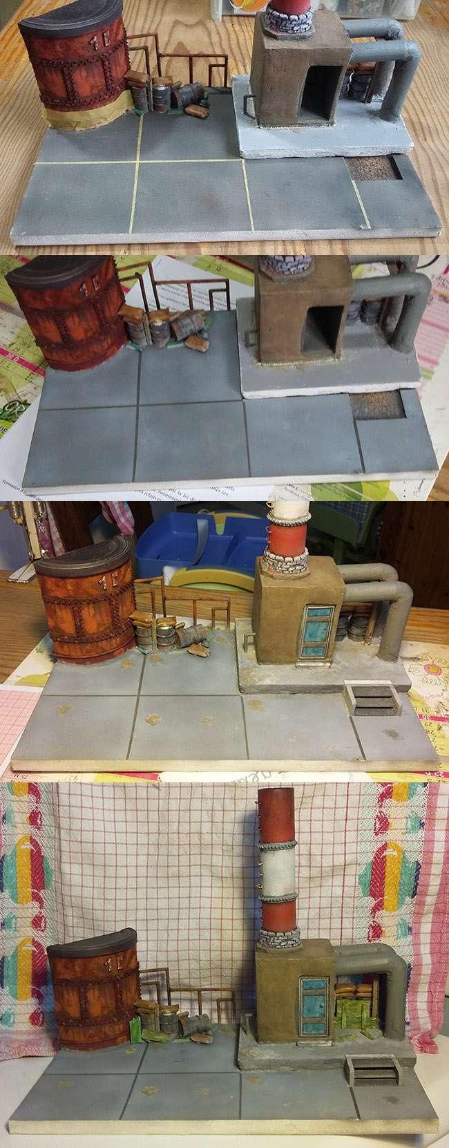 Combat à l'usine désaffectée              Tamiya/Dragon/Vulcain/MENG/Scratch 1/35   16021617