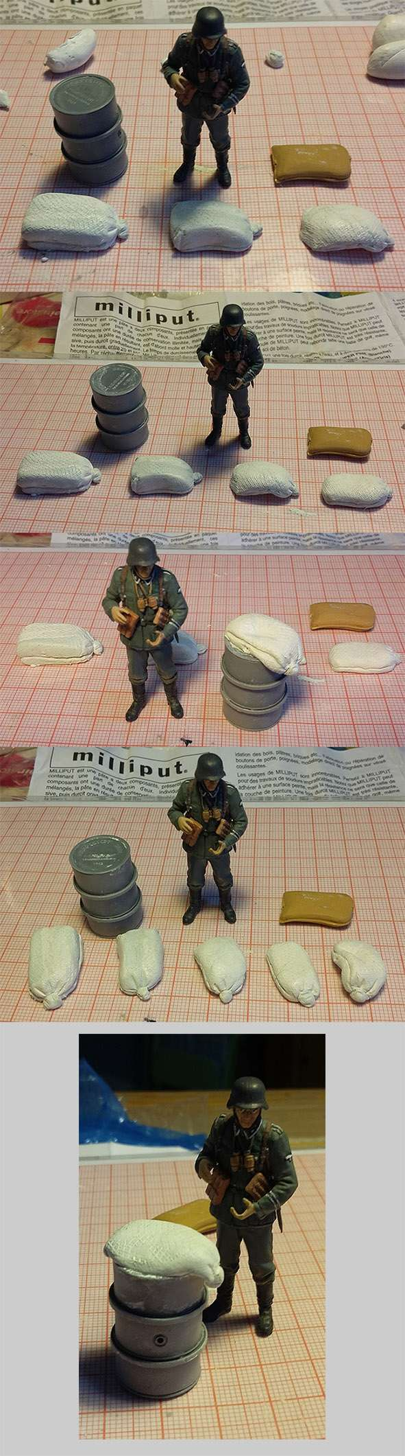 Combat à l'usine désaffectée              Tamiya/Dragon/Vulcain/MENG/Scratch 1/35   - Page 2 16021810
